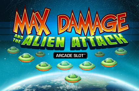 Max Damage and the Alien Attack arcade slot | Euro Palace Casino Blog