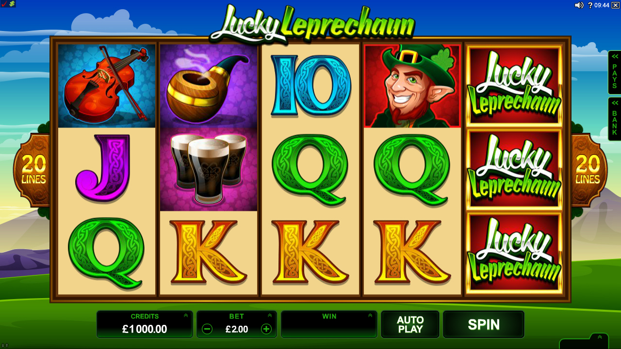Lucky Leprechauns™ Slot Machine Game to Play Free in Saucifys Online Casinos